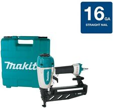 Makita Straight Nailer Air Gun 2-1/2 in. Pneumatic 16-Gauge Soft Grip Trim Work
