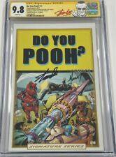 Do You Pooh #1 Captain America #3 Homage Autograph Signed Stan Lee CGC 9.8 SS