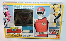 1986 Bandai Japan Power Rangers Sentai Flashman Morpher Belt Unused