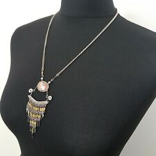 STATEMENT Necklace Ethnic Wire Work Boho Tribal Festival