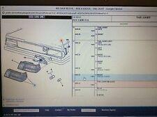 GENUINE PEUGEOT 405 MK1 Mi16 SRi saloon O/S DRIVERS SIDE REAR LIGHT LENS 635222