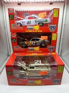 Racing Champions stock rods lot of 3 camaro, bel air, Ford sedan