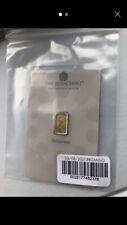 More details for 2021 britannia 1g gold minted bullion bar 999.9