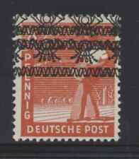 Germany 1948 8pf Sowing Seeds with double overprint Nh