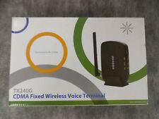 Axesstel  TX240G CDMA Fixed Wireless to Landline Voice Terminal - New Open Box