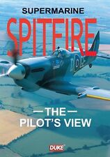 SPITFIRE DVD - THE PILOT'S VIEW. BATTLE OF BRITAIN AIRPLANE. 61 Min. DUKE 8379NV