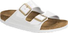 Birkenstock Arizona Narrow Fit - Patent White 1005294 Man-made Womens Sandals 37 EU
