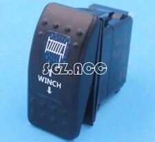 ARB STYLE LED BACKLIT ROCKER SWITCH - BLUE LED - CARLING STYLE SWITCH WINCH