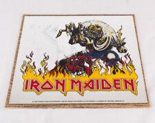 "Iron Maiden Carnival Prize Mirror, 12"" x 12"", 1982, w Original Packaging"