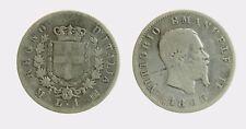 pci4506) VITTORIO EMANUELE II (1861-1878) 1 LIRA STEMMA 1863 MI AR