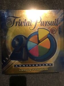 TRIVIAL PURSUIT-20TH Anniversary Edition-Board Game-Family-Quiz-Trivia-Knowledge