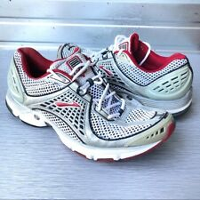 Brooks | White Silver Red Trance7 Running Shoes 12