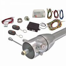 One Touch Engine Start Kit with Column Insert and Remote - White hot rods