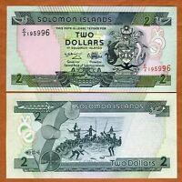 Solomon Islands, $2, ND (1997), Pick 18, C/3, UNC