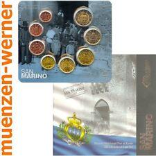 offizieller Kursmünzensatz San Marino 2013 alle 8 Münzen Satz Euro•Münze•KMS