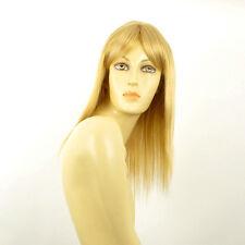 Perruque femme mi-longue blond clair doré LAURY LG26
