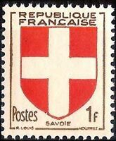 "FRANCE TIMBRE STAMP N°836 ""ARMOIRIES DE PROVINCES, SAVOIE"" NEUF X TB"