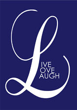 2018-2019 financial year diary Big L, LIVE LOVE LAUGH  A5