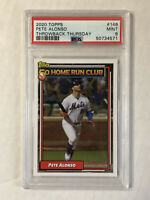 PETE ALONSO 2020 Topps Throwback Thursday SP #148! PSA MINT 9! CHECK MY ITEMS!