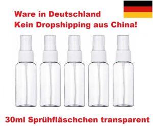 ★DE Sprühflasche klein Sprühfläschchen Desinfektion Alkohol Zerstäuber 30 50 ml