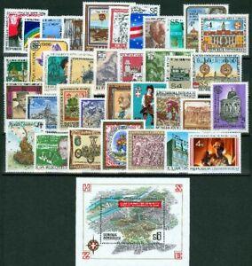 AUSTRIA MNH 1986 Año completo *** 36 Sellos Nuevos + 1 Hoja Bloque