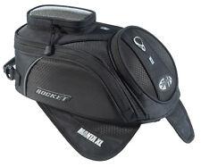 Joe Rocket Manta XL Motorcycle Tank Bag Black Magnetic