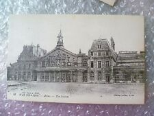 Postcard ARRAS- The Station AFTER the Bombardment in World War 1914-1916