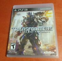 Transformers: Dark of the Moon Sony PlayStation 3 PS3 Activision , DemonWare