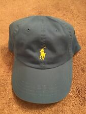 POLO RALPH LAUREN BABY BLUE WITH YELLOW EMBLEM UNISEX HAT