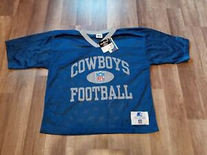 Vintage 90's Dallas Cowboys Starter Practice Jersey New Old Stock Men's Sz Lg/48