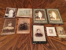 Antique / Vintage Photos Wedding Lot Of 9