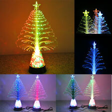 usb led christmas tree night light lamp color changing xmas party decor light zm