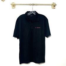 Tmobile Black Tee Short Sleeve Shirt Collared Neck Medium Uniform