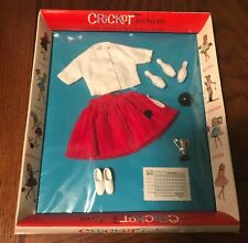 1960s Cricket Fashions #14201 Bowling Beauty doll set Sealed American Character