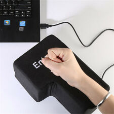 Key Keyboard Unbreakable Anti Stress Relief Supersize Big Enter Relax USB Pillow