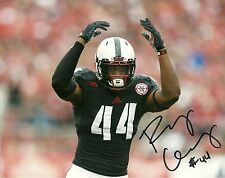 DALLAS COWBOYS RANDY GREGORY HAND SIGNED NEBRASKA CORNHUSKERS 8X10 PHOTO W/COA