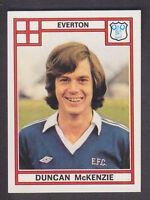 Panini - Football 78 - # 139 Duncan McKenzie - Everton