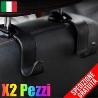 X2 Pezzi Organizer per Auto, Auto poggiatesta Gancio Sedile Posteriore