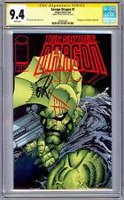 SAVAGE DRAGON #1 CGC-SS 9.4 *SIGNED ERIK LARSEN* STORY COVER & ART IMAGE 1993