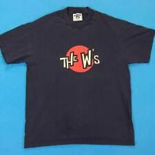 The W Vintage T-Shirt Homme Taille M 90s Christian Ska Jésus Punk Tour T-Shirt
