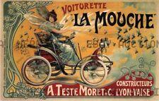 La Mouche Moret automobiles 1910s print ca 8 x 10 print prent poster