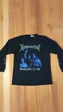 """Immortal """"Blashrkh In Oz""""Aus Tour L/S T-shirt Emperor,Satyricon, Darkthrone."""