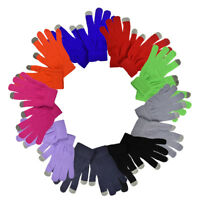 New Gloves Women's Magic Knit Adult Warm Winter Gloves Great Colors