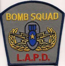 LAPD - Los Angeles:  *BOMB  SQUAD* Police Polizei Patch Abzeichen Aufnäher