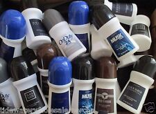 *X-LARGE- BONUS SIZE**-Avon Men's Roll-On Deodorants {MIXED LOT OF 35}$1.25 each