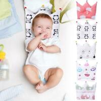 Baby Newborn Infant Pillow Prevent Flat Head Anti Roll Cushion Sleeping Support