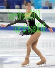 new style Figure Skating competition Dress Ice Skating Dance Dress 8975