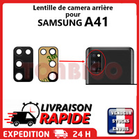 Lentille arrière appareil photo SAMSUNG GALAXY A41 SM-A415F vitre Camera Lens
