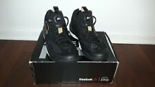 NEW WITH BOX Reebok Zpump Rise Men's Size 12 Black/Gold Athletic Sneakers Shoes