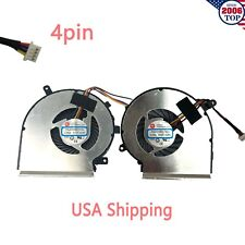 NEW CPU & GPU Cooling Fan for MSI GV62 8RD GV62 8RC GV62 7RE US Shipping